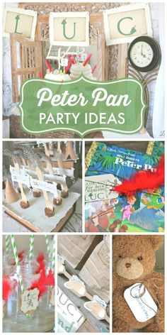 Peter Pan in Neverland Birthday Party Ideas