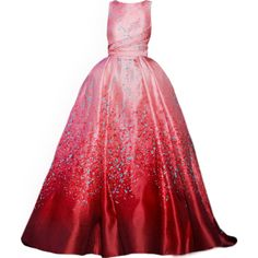 satinee.polyvore.com - Elie Saab Couture ❤ liked on Polyvore featuring dresses, gowns, long dresses, satinee, red gown, long red evening dress, red dress and couture evening dresses