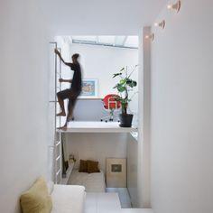 Nos projetos, reunidos pelo site Dezeen, os arquitetos mostram como aproveitar cada centímetro