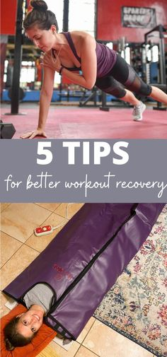 Sharing tips on how to recover from your workouts! If you're feeling sore or run down from your workout routine, here are some ideas for workout recovery. | Healthy Lifestyle Tips | The Fitnessista Weight Training Workouts, Fun Workouts, At Home Workouts, Fitness Tips, Fitness Motivation, Health Fitness, Healthy Lifestyle Tips, Injury Prevention, Hiit