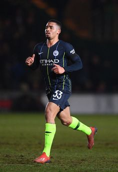 Gabriel Jesus of Manchester City during the FA Cup Fifth Round match. Football Soccer, Football Players, C63 Amg Black Series, Manchester City Wallpaper, Gabriel Jesus, Newport County, Zen, Fa Cup, Neymar