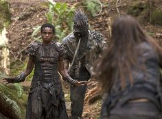 Meet The 100's Fierce Grounder Warrior Leader Indra—Can She Be Trusted?  The 100, Inclement Weather