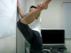 Stretches for high kicks