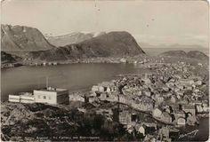 Møre og Romsdal fylke Ålesund - fra Fjellstua mot Sukkertoppen Utg Normann