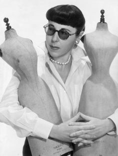 Edith Head (born October 28, 1897-1981) She became chief designer at Paramount Pictures in 1933 and later worked at Universal. Hollywood's best-known designer, her costumes ranged from the elegantly simple to the elaborately flamboyant. She won a record eight Academy Awards for her work in films such as All About Eve(1950), Roman Holiday (1953), and The Sting (1973).