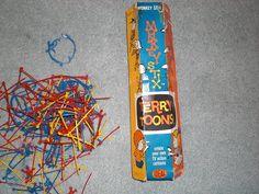 "I used to call this game ""Monkey Tits"" instead of Monkey Stix Game Monkey, Arizona Tea, Classic Toys, Drinking Tea, Scrapbook, Cartoon, Girls, Jewelry, Toddler Girls"