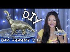 DIY Dino Jewelry Dish Tutorial!
