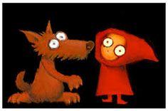 Image result for caperucita y el lobo ilustracion