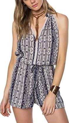 ONeill Womens Marcia Romper Dark NavyDark Navy XS *** Continue to the product at the image link.(This is an Amazon affiliate link and I receive a commission for the sales)