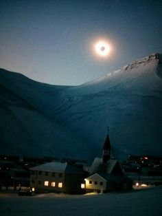 Solar eclipse in Norway