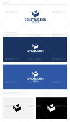 Construction Group Logo Design Template Vector #logotype Download it here:  http://graphicriver.net/item/construction-group/2363820?s_rank=1483?ref=nesto