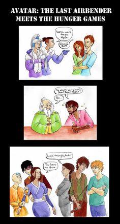 AtLA meets The Hunger Games by ~timetofrolic on deviantART