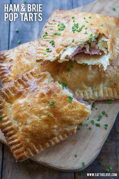 Ham and Brie Pop Tar