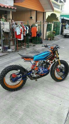 Tracker Motorcycle, Moto Bike, Cafe Racer Motorcycle, Moto Enduro, Honda Scrambler, Yamaha, Moto Custom, Custom Sport Bikes, Cafe Racer Bikes