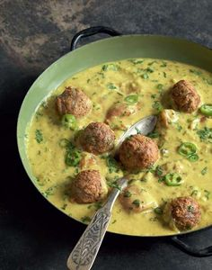 ... and dumpling kadhi recipe from I Love Curry by Anjum Anand | Cooked