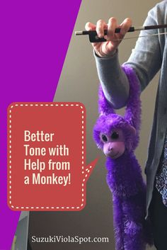 I work on bow hold a LOT in lessons because it is foundational to producing a beautiful tone. But even when my students have learned a correct, relaxed bow hand posture, that ease doesn't always tr…