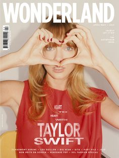 taylor swift covers | Taylor Swift Is All '80s And Eyebrows In New Wonderland Magazine Cover ...