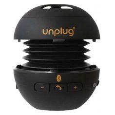 Unplug Minibox. Bluetooth Speaker & handsfree kit available for Online Shopping.