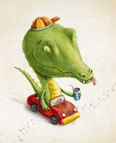 + Ilustração :     O excelente trabalho de Renato Moraes, na sua série Pé de Bicho.