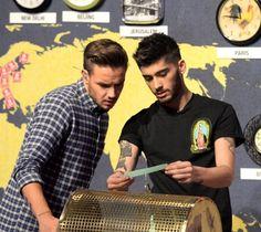 Liam and Zayn