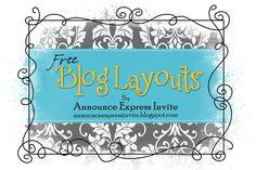 Free Blog layouts