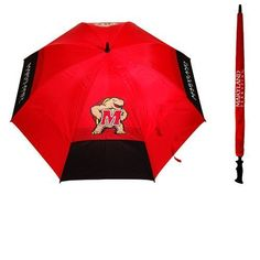 Team Golf Adults' University of Maryland Umbrella - Golf Equipment, Collegiate Golf Products at Academy Sports