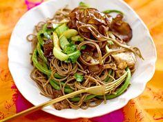 Chinesische Rezepte - fernköstlich speisen - soba-nudeln-mit-pak-choi  Rezept