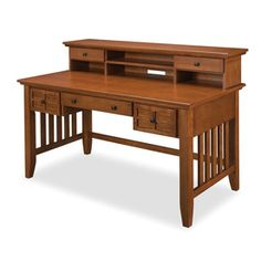 Home Styles�Arts and Crafts Cottage Oak Executive Desk