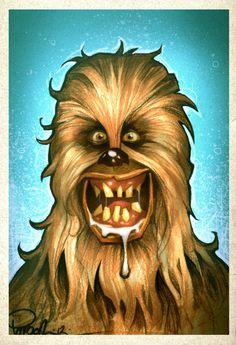 Chewie  illustration byBrett Parson