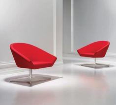 REMY Lounge #Chair by Jeffrey Bernett for #BERNHARDT DESIGN.