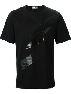 MSGM - abstract print T-shirt