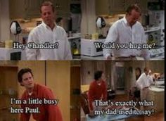 FRIENDS funny quote