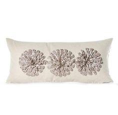 Daniel Stuart Studio - Gallery - Aster Pillow - Churchill Linen Aster Pillow col: Pewter / Flax