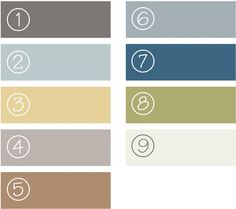The Old Lucketts Store Blog: Picking the palette - March Design House