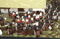 LEGO recreation of Battle of Rorke's Drift, Holding The Line