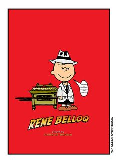 Charlie Brown is a fictional character in Charles M. Schulz's comic strip Peanuts.  This is based loosely from the Indiana Jones and the Lost Ark.  I was inspired by my friends whom designed they own version of Indiana Jones films and who changed the world of film industry.   Chris Strompolos Eric Zala  Fran Casanova Rafael Rodriguez  Marcel Cornelius  Thanks Guys!!!  Original Design and Illustration.