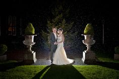 Rainy wedding days can make for some amazing photographs