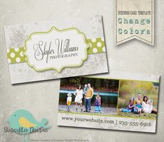 Bright Delight Business Card Templates  by SugarfliesDesigns, $8.00