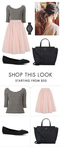 """Untitled #106"" by sarahgriffis ❤ liked on Polyvore featuring Yves Saint Laurent, Ted Baker, ALDO, Kate Spade and Michael Kors"
