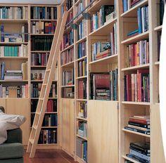 boekenwand hout - Google zoeken