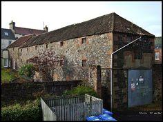 Auchtermuchty Malt Barn; Lost Distillery in Auchtermuchty - est. 1829 - closed 1926.