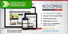 [ThemeForest]Free nulled download Novomag - News Magazine Theme from http://zippyfile.download/f.php?id=23776 Tags: lifestyle, magazine, magazine theme, minimalist magazine, modern, news, news magazine, personal blog, political, political magazine, review magazine, review theme