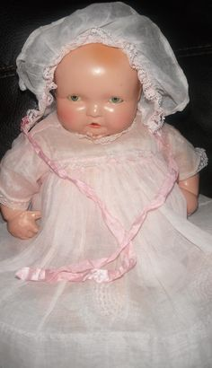 Effanbee adorable composition Lambkins baby doll