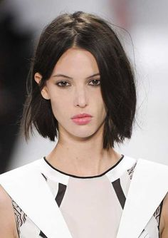 20 New Short Dark Haircuts | http://www.short-haircut.com/20-new-short-dark-haircuts.html
