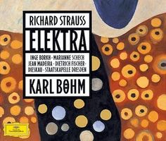 Strauss' Elektra with the immortal Inge Borkh in the title role and the Staatskapelle Dresden conducted by Karl Böhm. Dresden, Cd Album Covers, Richard Strauss, Stefan Zweig, Cd Art, Conductors, Classical Music, Opera, Composers