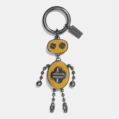 Shop The COACH Leather Inlay Robot Bag Charm. Enjoy Complimentary Shipping & Returns! Find Designer Bags, Wallets, Shoes & More At COACH.com!
