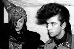 Steve Strange > New Romantics > Vintage street style > > Blitz Kids New Wave Music, The New Wave, Culture Club, Youth Culture, Hippy Fashion, Style Fashion, Leigh Bowery, Rockabilly Looks, Blitz Kids