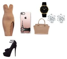 """Untitled #249"" by tstacks on Polyvore featuring Giuseppe Zanotti, Michael Kors and Casetify"