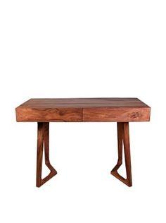 Jamie Young Haven Bent-Leg Desk, Natural