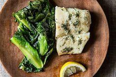 Halibut Over Wilted Escarole , a recipe on Food52